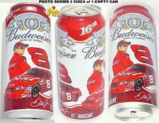 2006#8 Dale Earnhardt JR NASCAR BUD PINT BEER CAN BUDWEISER CHEVY STOCK CAR RACE