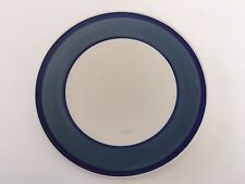 "Gibson Designs China Tavernware Dark Blue Band Ring - 8-3/4"" SALAD PLATE"