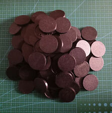Lot-Of-100-40mm-Round-Bases-For-wargames-table games