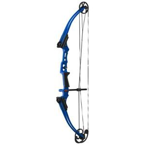 Genesis Mini Youth Compound Bow Left Hand Blue