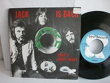 SMOKE Jack is back SR 13 France SOUL RECORD Psych rock prog