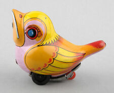 Noguchi (Japan) Tinplate Friction Drive Baby Bird/Chick (Yellow)