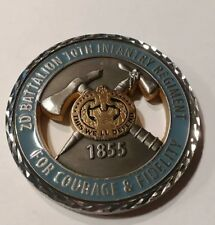 2nd Battalion 10th Infantry Regiment Challenge Coin Authentic