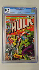 Incredible Hulk #181 CGC 9.4 white pages 1st full Wolverine