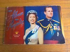 Fleetway Princess trade cards: My Album of Royalty full set in corner-slot album