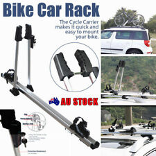 Bike Car Roof Rack Upright Stand Bicycle Travel Sucker Mount Carrier Stability