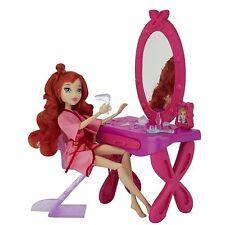 Winx Club Vanity Set & Accessories Mirror Chair 18 pcs (No Doll) 2012 NEW