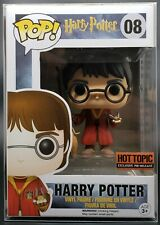 Funko Pop + Protector! Harry Potter #08 Quidditch (Hot Topic Exclusive) 2015