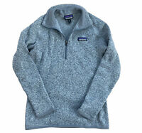 Patagonia Womens Better Sweater 1/4 Zip Fleece Pullover XS