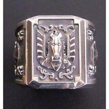Saint Seiya Pegasus cross Cloth box motif ring Accessary Fashion Make-to-order