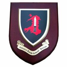 IBS Infantry Battle School Brecon Military Wall Plaque UK Made for MOD