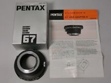 Pentax Adapter K For 6x7 Lens from Japan