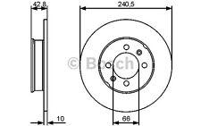 BOSCH Juego de 2 discos freno 240,5mm MG MGF 0 986 479 478