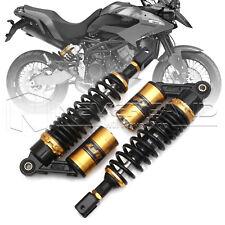 """1 Paire 12.5"""" 320mm Air Gaz Amortisseur Suspension Pour Moto Honda Aprilia Doré"""