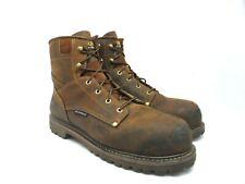 "Carolina Men's 6"" Composite Toe Work Boot EH CA7528 Brown Size 12D"