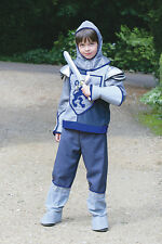 Boys Crusader Knight Fancy Dress World Book Day Medieval Costume 9-11 Years