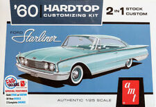 1960 Ford Starliner Hardtop Customizing Kit 1:25 AMT Model Kit Bausatz AMT1055