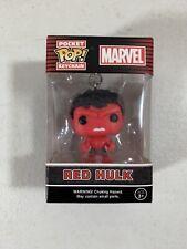 Funko Pocket Pop Keychain Marvel Hot Topic Mystery Red Hulk, NEW