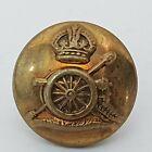 Royal Artillery 13mm brass button WW1 unbranded