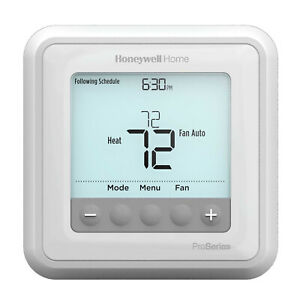 Honeywell T6 Pro Programmable Thermostat - White