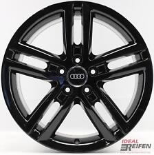4 Originale Audi A6 4g C7 Cerchi Lega 18 Pollici 8x18 Et39 4g0601025bl Nero
