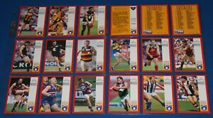 1997 White Crow Warriors Cards x 18 Including 3 Check Lists