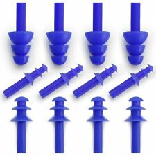 Soft Silicone Ear Plugs Reusable Swimming Sports Reduce Noise Work Study