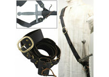 Leather Waist Hanger Frog Baldric Sword Hanger