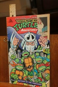 1986 Random House Comics Teenage Mutant Ninja Turtles Return of Shredder
