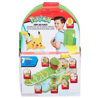 Pokémon Carry Case Backpack Playset with Pikachu Figure