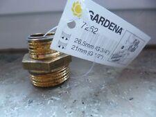 """Gardena Messing-Gewindenippel 26,5 mm (G 3/4"""")-Gewinde - Pumpenzubehör, 7262"""