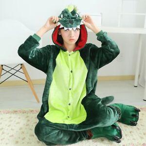 Adult Dinosaur Unisex Kigurumi Animal Cosplay Costume Onesie12 Pajamas Sleepwear