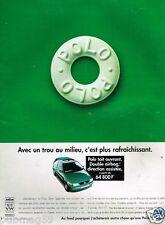 Publicité advertising 1997 VW Volkswagen Polo