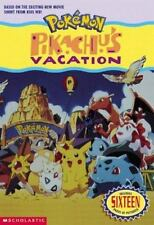 Pokemon The Movie Pikachu Vacation Author Tracey West Scholastic New w Pictures