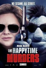 Happytime Murders - original DS movie poster - 27x40 D/S Melissa McCarthy