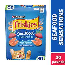 New listing Friskies Dry Cat Food, Seafood Sensations, 30 lb. Bag