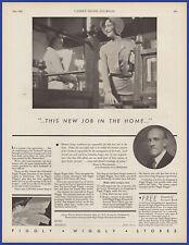 Vintage 1931 PIGGLY WIGGLY Grocery Stores Ephemera Art Decor Print Ad 30's
