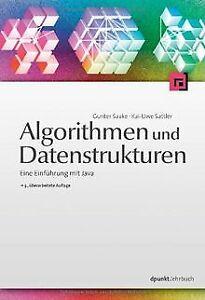Algorithmen und Datenstrukturen: Eine Einführung mit Jav... | Buch | Zustand gut