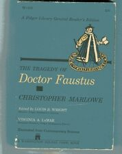 CHRISTOPHER MARLOWE Tragedy of Doctor Faustus vintage PB 1959 Illustrated