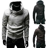 Mens Hoodie Pullover Tracksuit Sweatshirt Sweater Coat Jacket Jumpers Cardigan