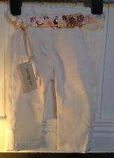 BNWT Roberto Cavalli Baby Girl's Pantaloni Taglia 3 M Prezzo Consigliato £ 146