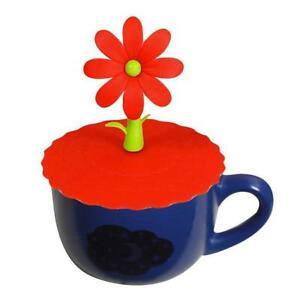 Anti-dust Silicone Glass Cup Cover Coffee Mug Suction Seal Lid Cap Cover LP