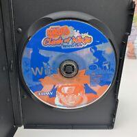 SHIPS SAME DAY Naruto Clash of Ninja Revolution Nintendo Wii Game Disc Only Work