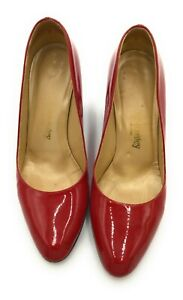 Russel & Bromley Bright Red heeled shoes 38 (UK 5)