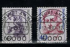 BRD Mi. - Nr. 1331 - 1332 mit Ersttagstempel Frankfurt am Main mit Originalgummi