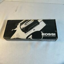 Rossi factory Box for M971 Revolver, owner's manual, Safety Manual for Revolvers