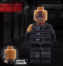 **NEW**LYL BRICK Custom Resident Evil 3 Nemesis Lego minifigure, embossed print