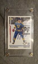 Peter Forsberg 21 MODO hockey card 1992 signed in protective case