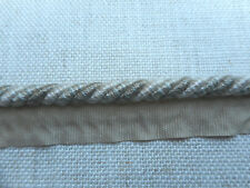 Zoffany 1/4 Sertissage cordon-LIN/Natural ztrh 01004-Vendu par le mètre