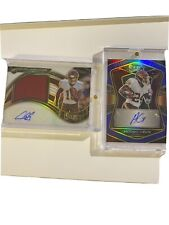 2020 Panini Select Antonio Gibson Blue Prizm Auto /75 , gandy-golden rpa /75